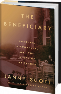 Janny Scott author of The Beneficiary